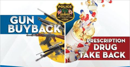 Miramar Police Department will host a Gun Buyback / Prescription Drug Take Back event