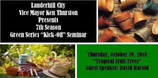 Lauderhill Vice Mayor announces 7th Annual Green Series
