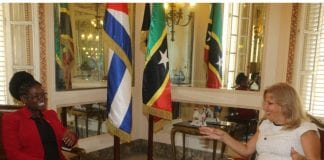 St. Kitts and Nevis Ambassador to Cuba presents credentials