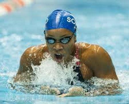 Alia Atkinson wins 5th straight 50m breast stroke