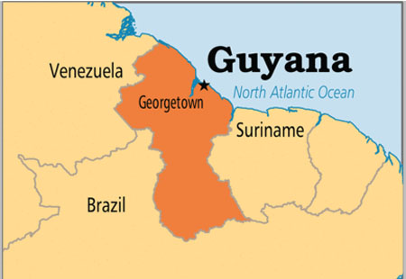 Guyana and Brazil to remark borders