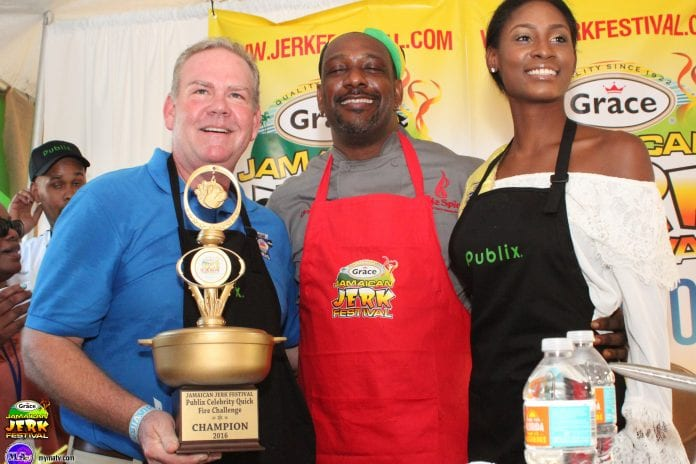 Publix leads the way to Jerk Festival