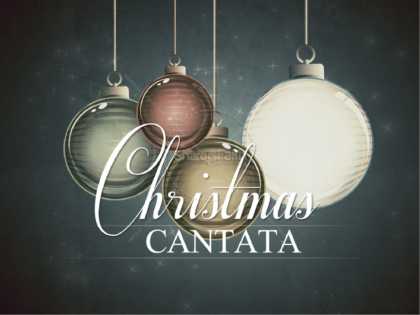 cantata - What Is A Christmas Cantata