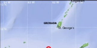 earthquake Dominica