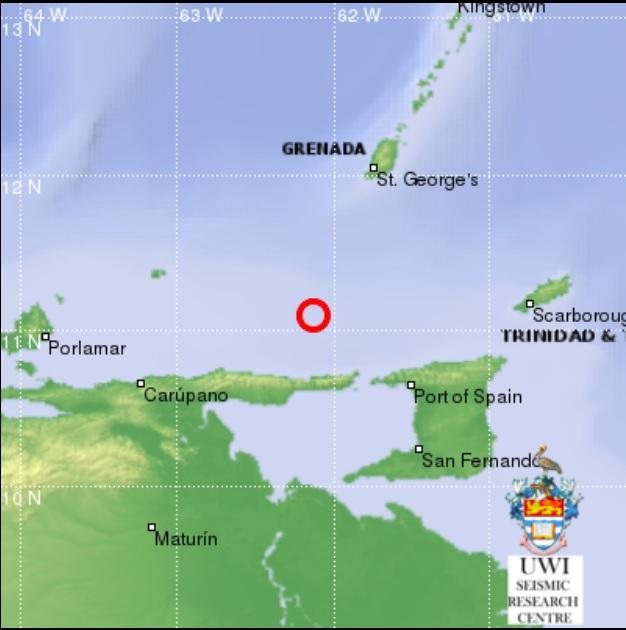 earthquake Dominica