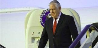 Tillerson visit