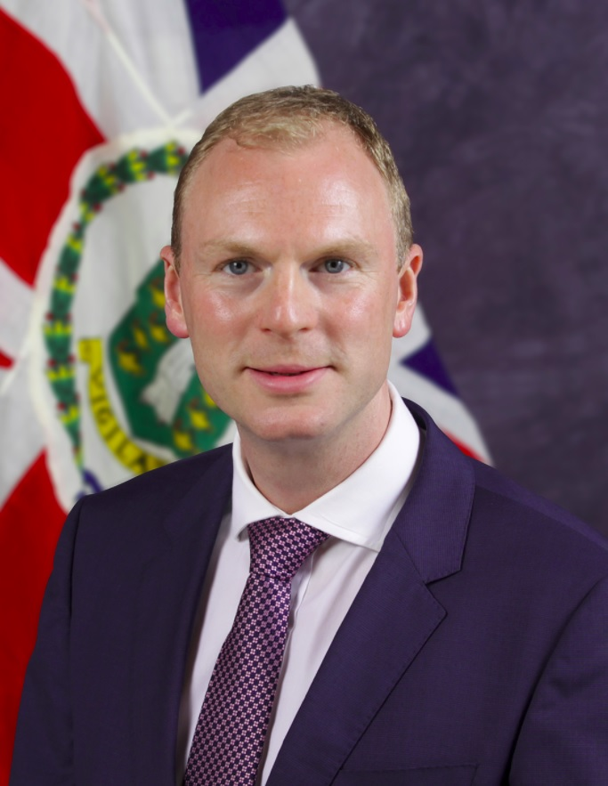 BVI Governor Augustus Jaspert