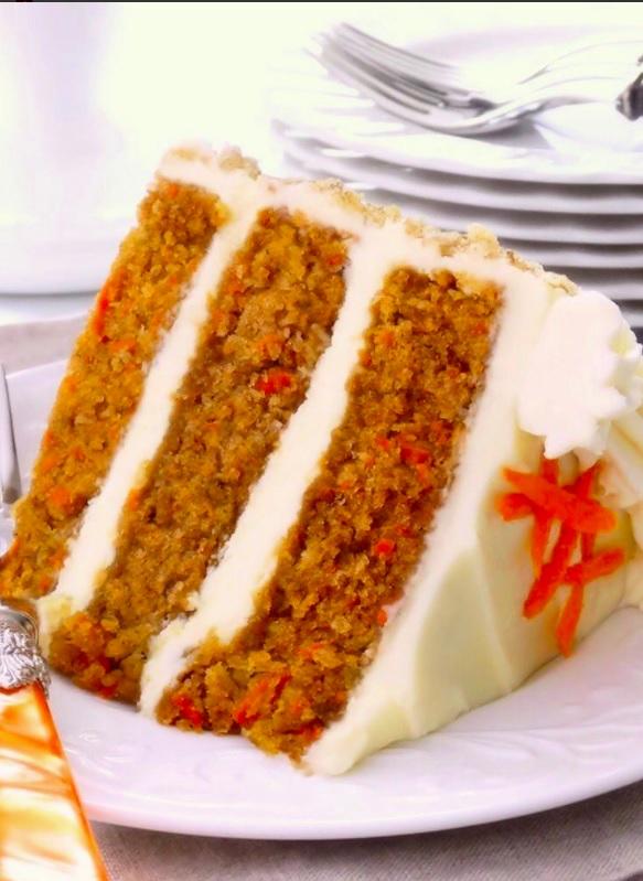 Alcoholic Carrot Cake
