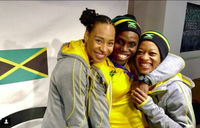 first-ever women's bobsled
