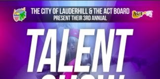 Lauderhill 3rd annual talent show