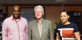 Clinton Dominica visit