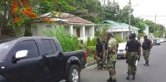 St Kitts Nevis police