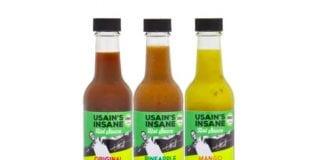 Usain's Insane Hot Sauce
