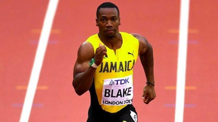 Yohan Blake Commonwealth Games