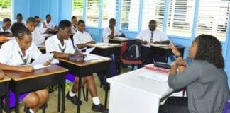 Barbados classroom