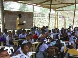 Haiti teachers protest