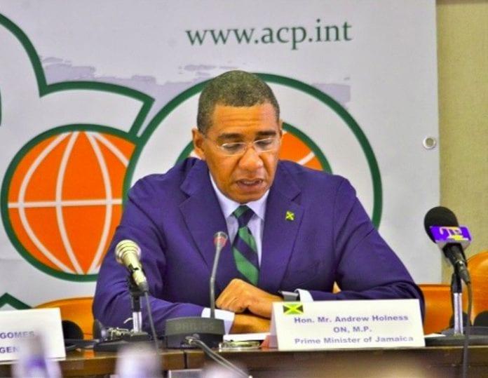 Holness at ACP