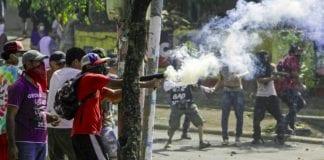 CONCACAF Nicaragua violence