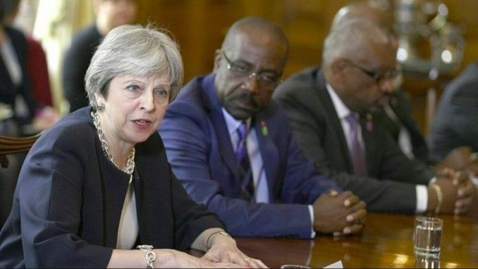 Theresa May Windrush