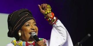 Winnie Mandela editorial