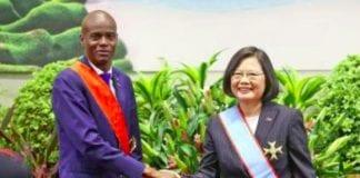 Taiwan and Haiti