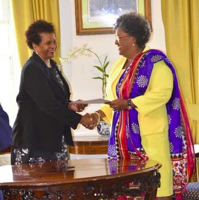 Mottley sworn in