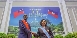 Moise visits Taiwan