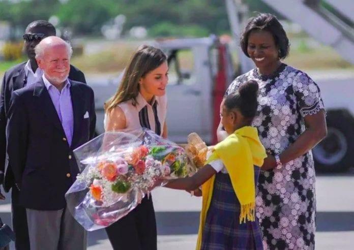 Spanish Monarch visits Haiti