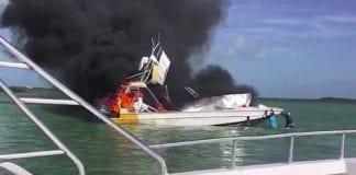 tour boat explosion