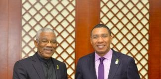 Jamaica Guyana relations