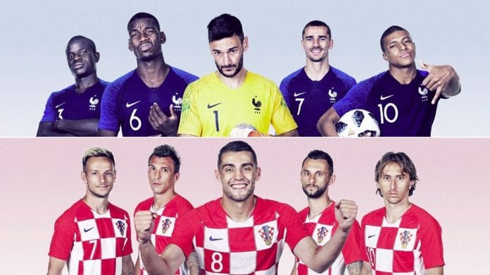 France and Croatia