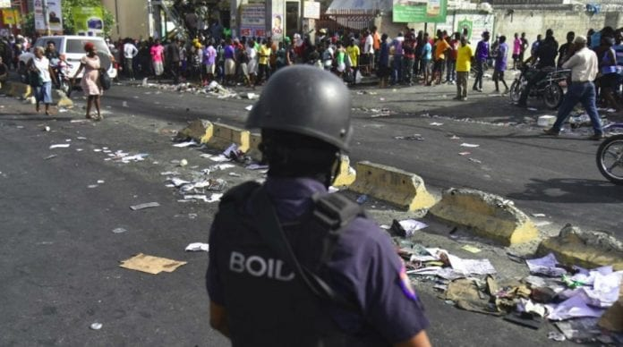 Travel warning Haiti protests