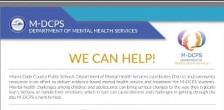 M-DCPS Department of Mental Health Services
