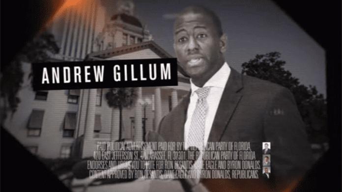 Gillum attack ad
