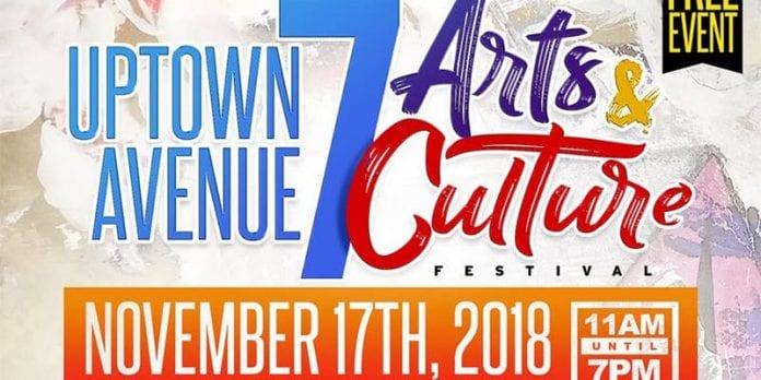 2nd Annual Uptown Avenue 7 Arts & Culture Festival