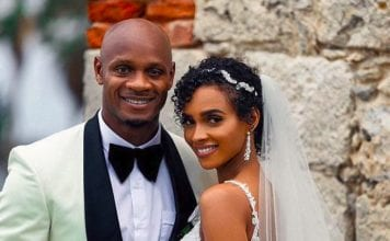 Asafa Powell wedding