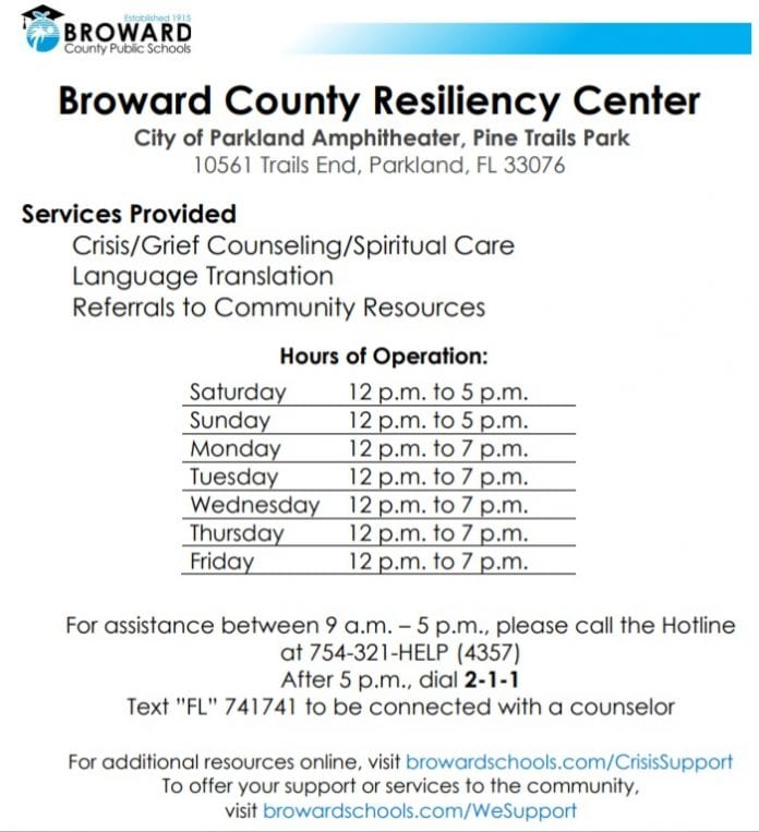 Broward Crisis Support