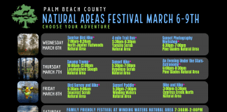 Palm Beazch Natural Areas Festival