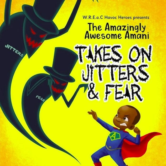Amazingly Awesome Amani Jitters Fears