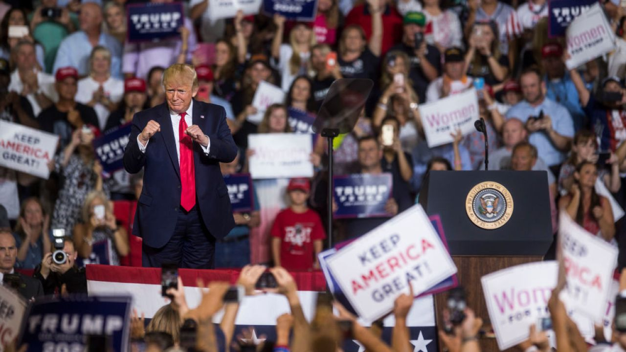 Trump Champions Voucher Program That >> Trump Supporters Chant Send Her Back At Rally