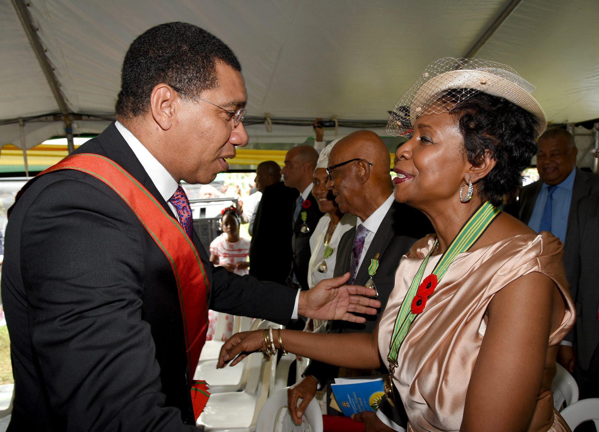 Jamaica national honors
