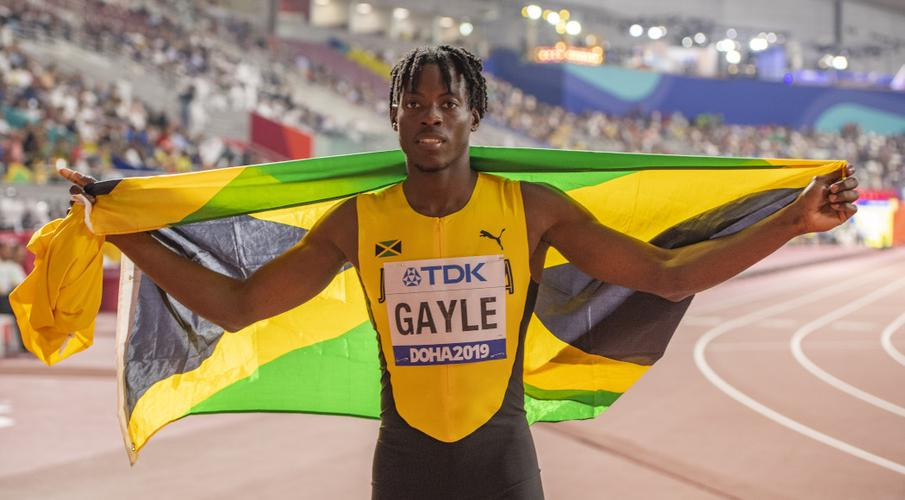 Image result for Tajay Gayle Takes Historic Long Jump Gold for Jamaica at Doha World Championships