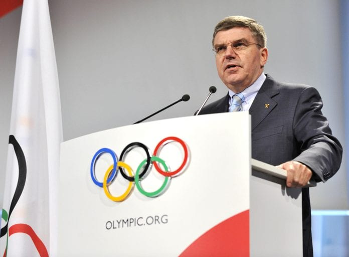 thomas-bach olympic athletes