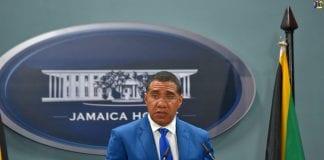 Jamaica PM Andrew Holness