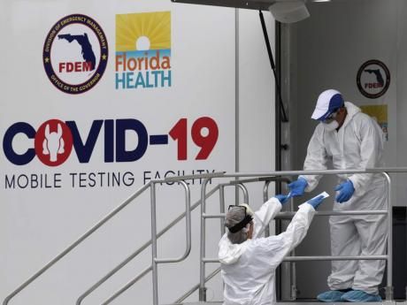 Covid-19 coronavirus: Florida tops a million confirmed cases