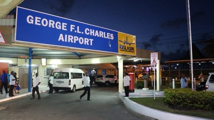 st lucia airport