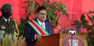 President of Suriname, Chan Santokhi