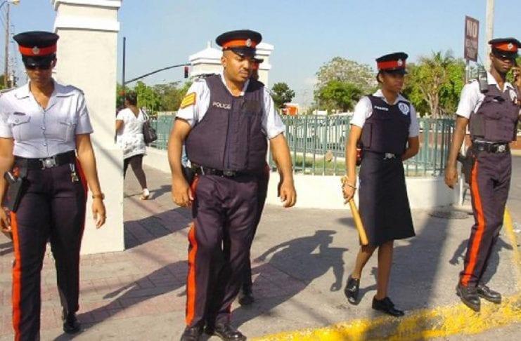 JCF Jamaica police