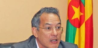 Grenada Health Minister Nicholas Steele