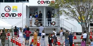 Florida covid testing site